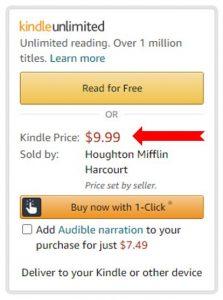 Kindle Buybox