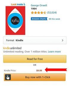 Kindle buy box free book