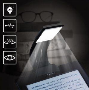 clipon flexible reading light