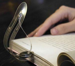 Mini led book lamp